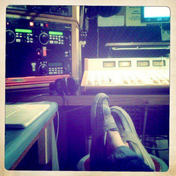 At KSVR, February 10, 2012