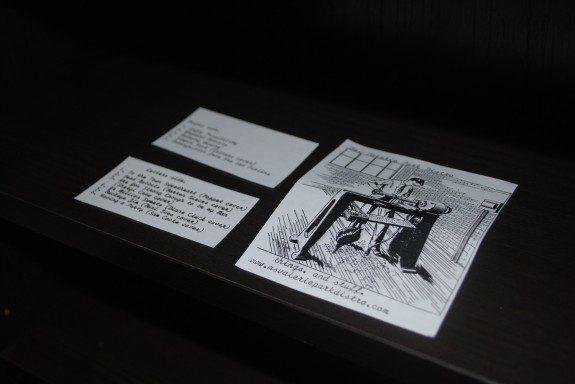 Letters & Poppet Split Tape