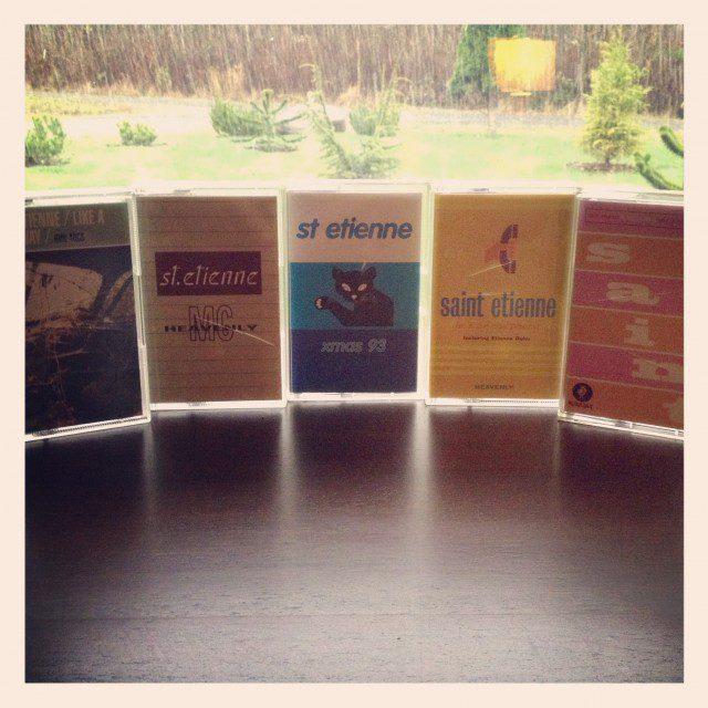 Saint Etienne Cassette Singles