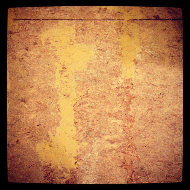 Kitchen Floors - Applying Wood Filler